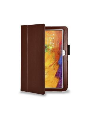 Обложка skinBOX standard для планшета Samsung Galaxy Note10.1 P600 2014 standard.. Цвет: коричневый