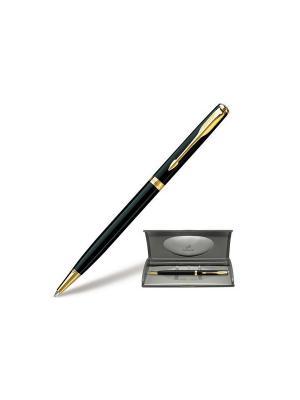 Ручка шариковая SONNET Black Laque GT Parker. Цвет: черный