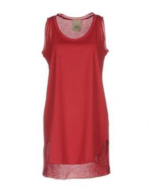 Короткое платье JIJIL. Цвет: красный