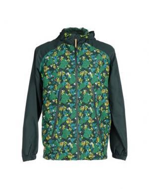 Куртка HUMÖR. Цвет: темно-зеленый
