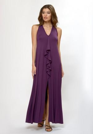 Платье пляжное Petit Pas. Цвет: фиолетовый