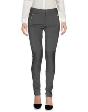 Повседневные брюки AXARA PARIS. Цвет: свинцово-серый