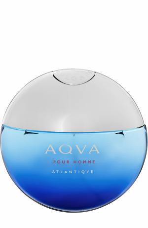 Туалетная вода Aqva Atlantiqve BVLGARI. Цвет: бесцветный