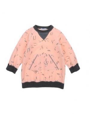 Платье MIMISOL. Цвет: лососево-розовый