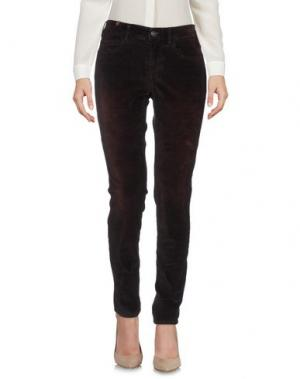 Повседневные брюки NOTIFY. Цвет: баклажанный