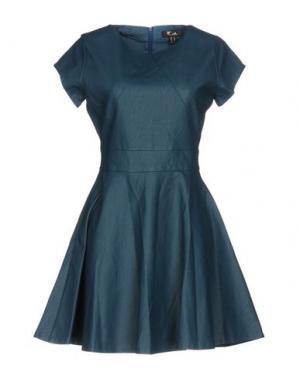 Короткое платье CUTIE. Цвет: цвет морской волны