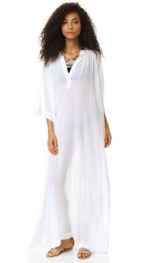 Макси-платье Fez 9seed. Цвет: белый