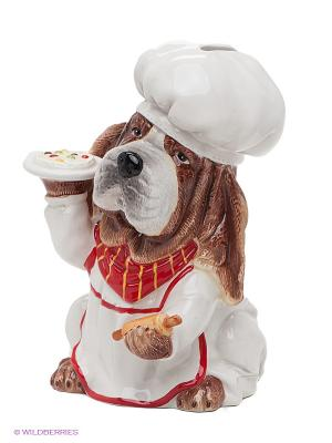 Копилка Шеф-повар Pavone. Цвет: коричневый, белый