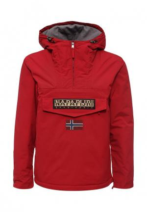 Куртка утепленная Napapijri. Цвет: красный