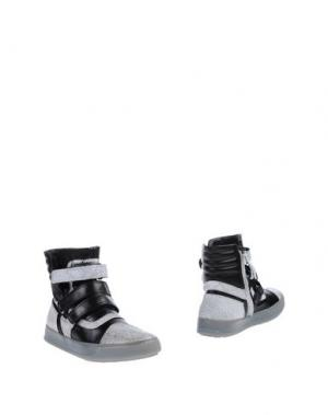 Полусапоги и высокие ботинки BRUNO BORDESE. Цвет: белый