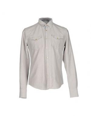 Pубашка AGLINI. Цвет: светло-серый