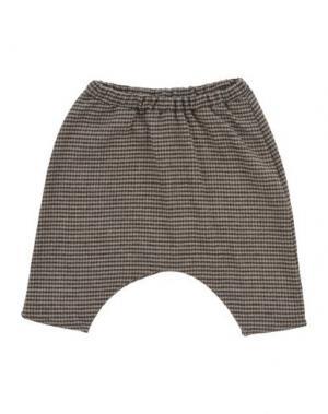 Повседневные брюки LE PETIT COCO. Цвет: хаки