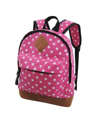 Рюкзак Stelz. Цвет: лиловый, бледно-розовый