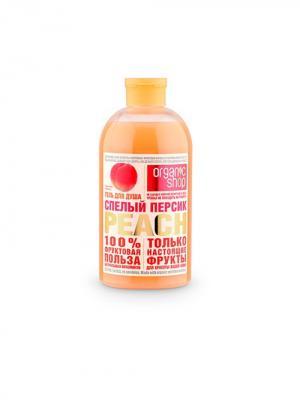 Пена д/ванн спелый персик 500мл Organic Shop. Цвет: бежевый