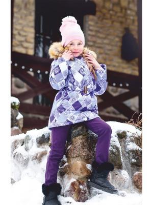 Пальто REIKE. Цвет: фиолетовый