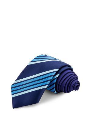 Галстуки CASINO. Цвет: синий, голубой
