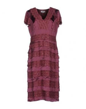 Платье до колена LEXUS. Цвет: розовато-лиловый