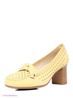 Туфли Renaissance. Цвет: желтый