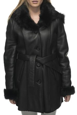 Sheepskin coat Jean Guise. Цвет: black