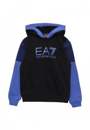 Худи EA7. Цвет: синий