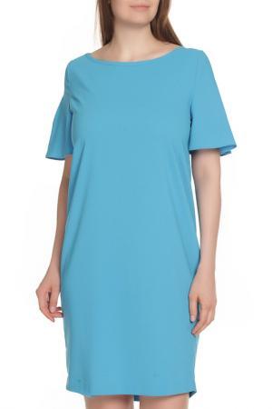 Повседневное платье D.Exterior. Цвет: голубой
