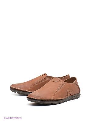 Туфли Shoiberg. Цвет: светло-коричневый