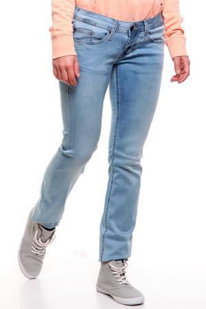 Брюки джинсовые Mustang. Цвет: heavy vintage super bleach