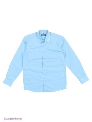 Рубашка Brostem. Цвет: синий, белый