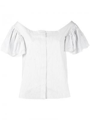 Рубашка с короткими рукавами Isa Arfen. Цвет: белый