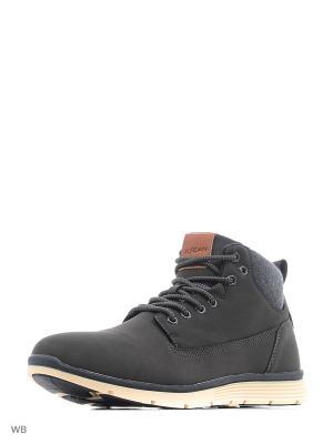 Ботинки Escan. Цвет: серый
