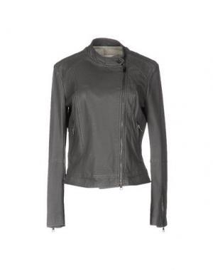 Куртка ..,MERCI. Цвет: свинцово-серый