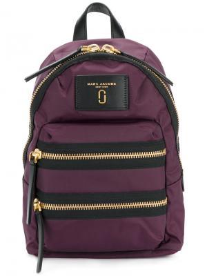 Байкерский мини-рюкзак Marc Jacobs. Цвет: розовый и фиолетовый