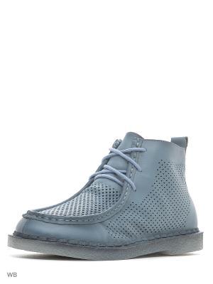Ботинки BERKONTY. Цвет: синий