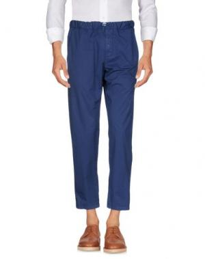 Повседневные брюки PERFECTION. Цвет: темно-синий