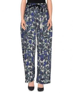 Повседневные брюки MNML COUTURE. Цвет: зеленый