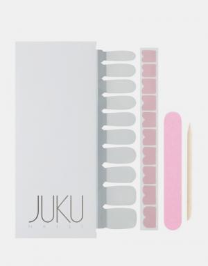 JUKU Nails Наклейки для ногтей в форме сердечек розового цвета. Цвет: розовый