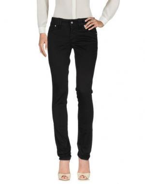 Повседневные брюки GALLIANO. Цвет: черный