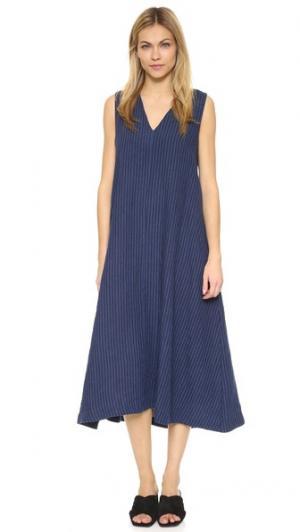 Платье Fargo Steven Alan. Цвет: темно-синяя полоска