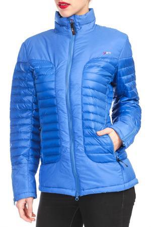 Куртка YETI. Цвет: синий