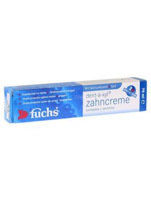 Зубная паста Fuchs. Цвет: белый