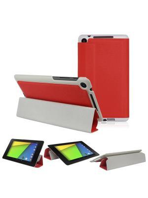 Облокжа skinBOX Smart Clips для планшета Asus Nexus 7 / Google второго поколения.. Цвет: красный