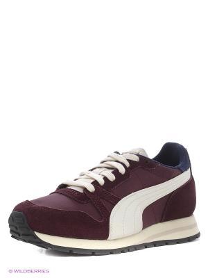 Кроссовки Yarra Classic Wn s Puma. Цвет: бордовый