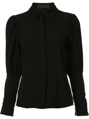 Рубашка с зауженными рукавами Co. Цвет: чёрный