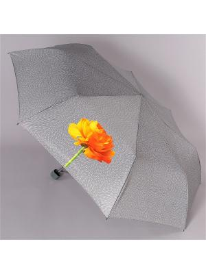 Зонт Airton. Цвет: серый меланж, оранжевый