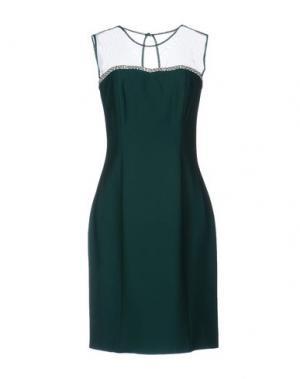 Короткое платье MUSANI COUTURE. Цвет: зеленый