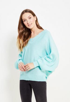 Пуловер Seanna. Цвет: бирюзовый