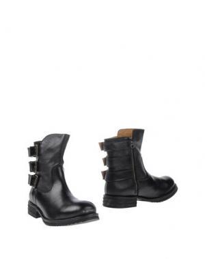 Полусапоги и высокие ботинки TATOOSH. Цвет: черный