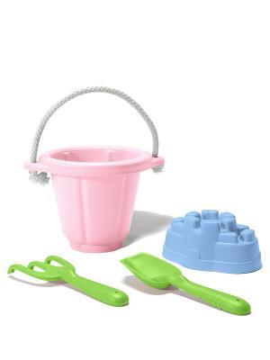 Набор для песочницы Green Toys. Цвет: салатовый, розовый