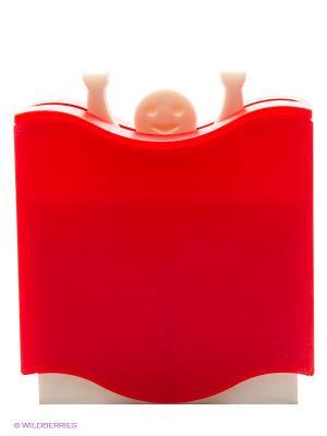 Держатель для зубочисток автоматический ШТАНГИСТ BRADEX. Цвет: красный
