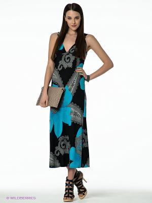 Платье Hammond. Цвет: черный, синий